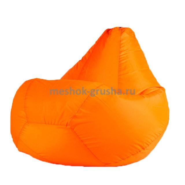 Кресло Мешок Груша Оранжевое (Оксфорд) (XL, Классический)