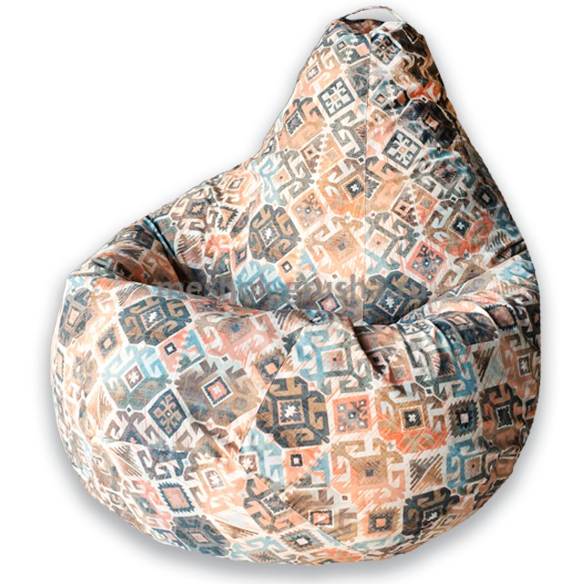 Кресло Мешок Груша Ясмин Коричневое (XL, Классический)
