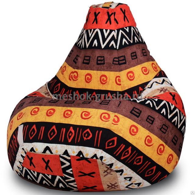Кресло Мешок Груша Африка (3XL, Классический)