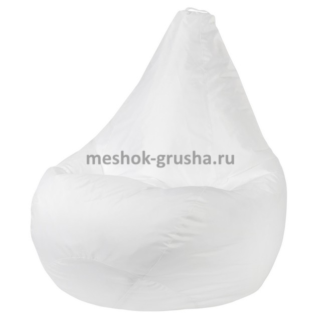 Кресло Мешок Груша Белое (Оксфорд) (2XL, Классический)
