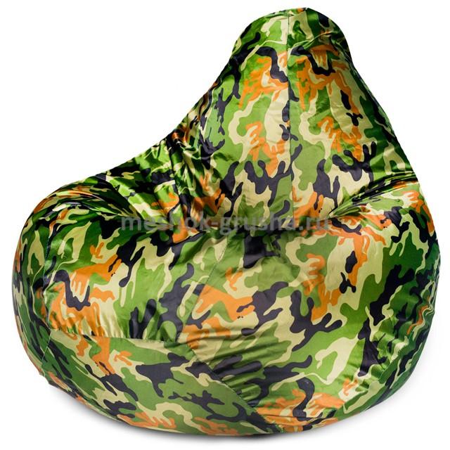 Кресло Мешок Груша Камуфляж (Оксфорд) (L, Классический)