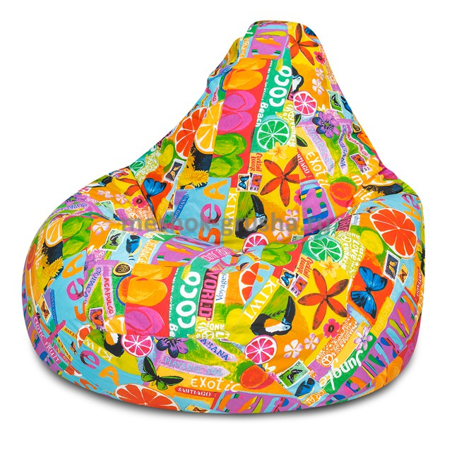 Кресло Мешок Груша Цитрус  (3XL, Классический)