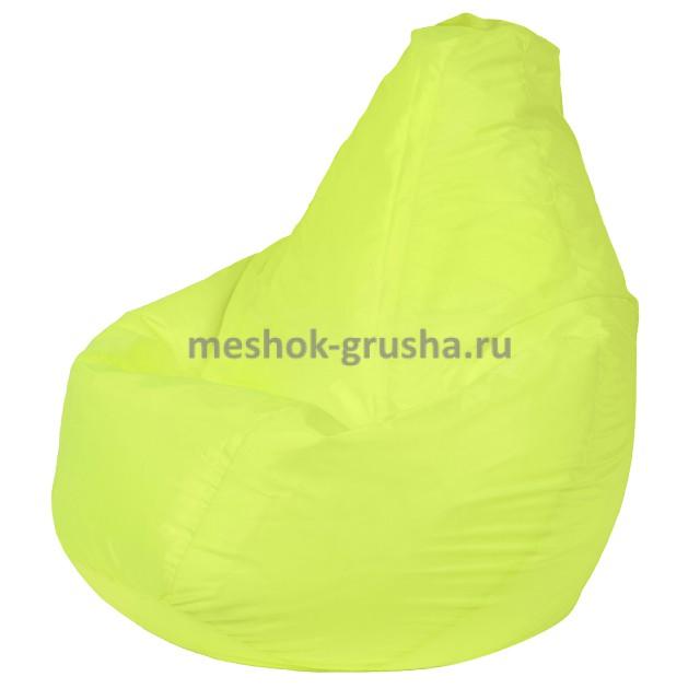 Кресло Мешок Груша Лайм (Оксфорд) (XL, Классический)