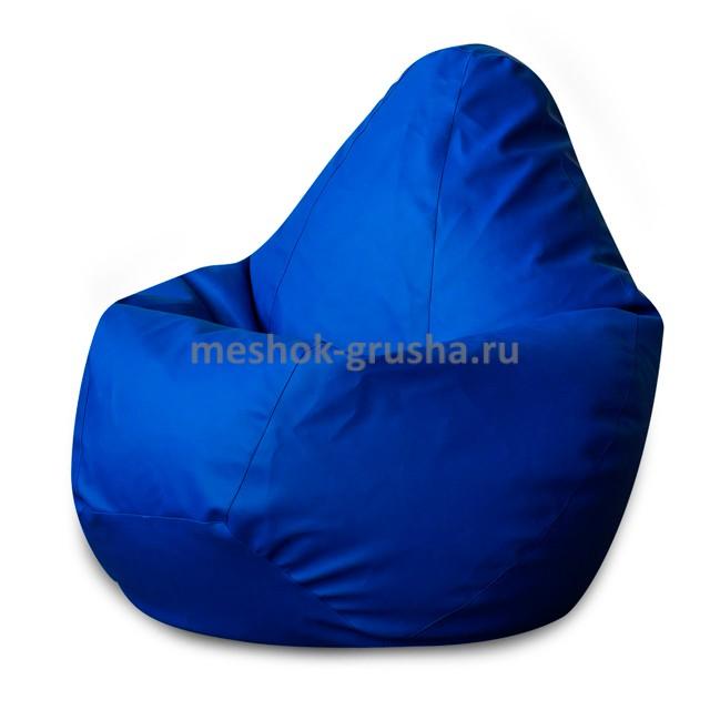 Кресло Мешок Груша Фьюжн Синее  (XL, Классический)