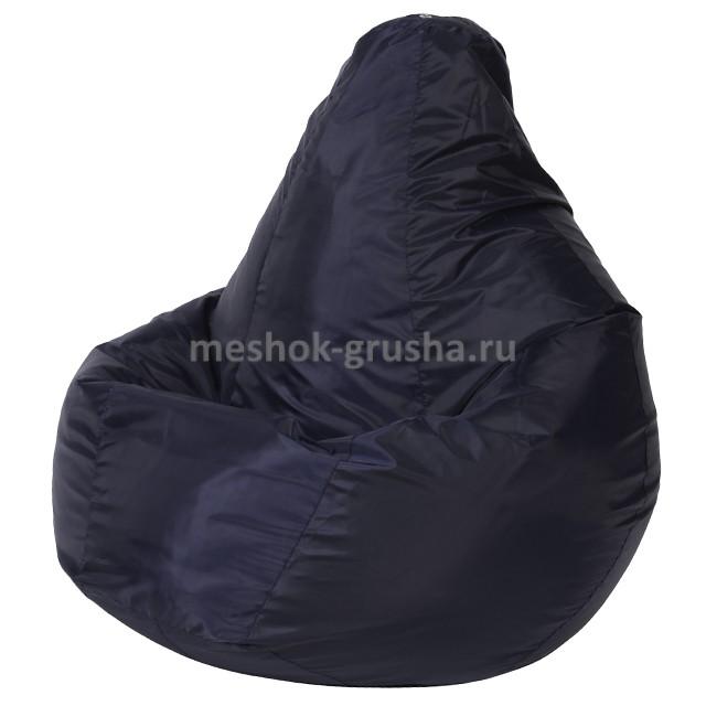 Кресло Мешок Груша Темно-Синее (Оксфорд) (L, Классический)
