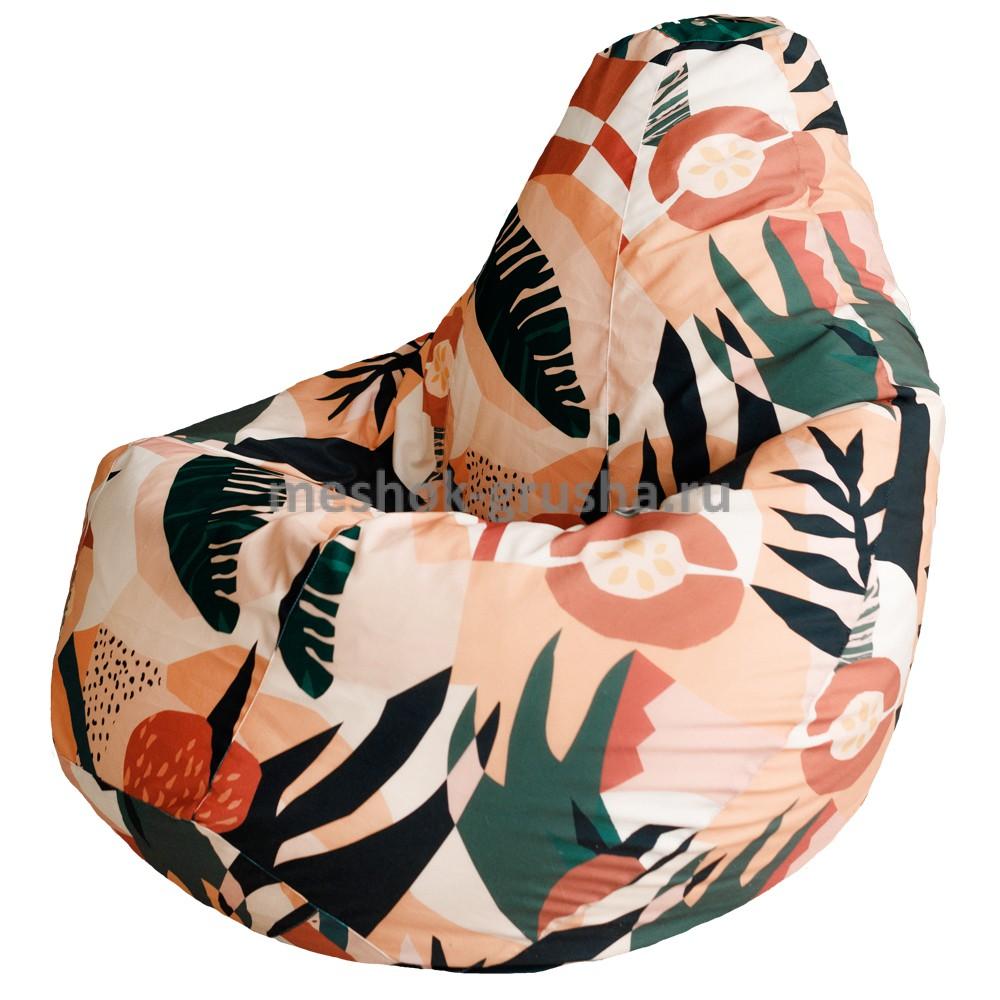 Кресло Мешок Груша Папайя (2XL, Классический)