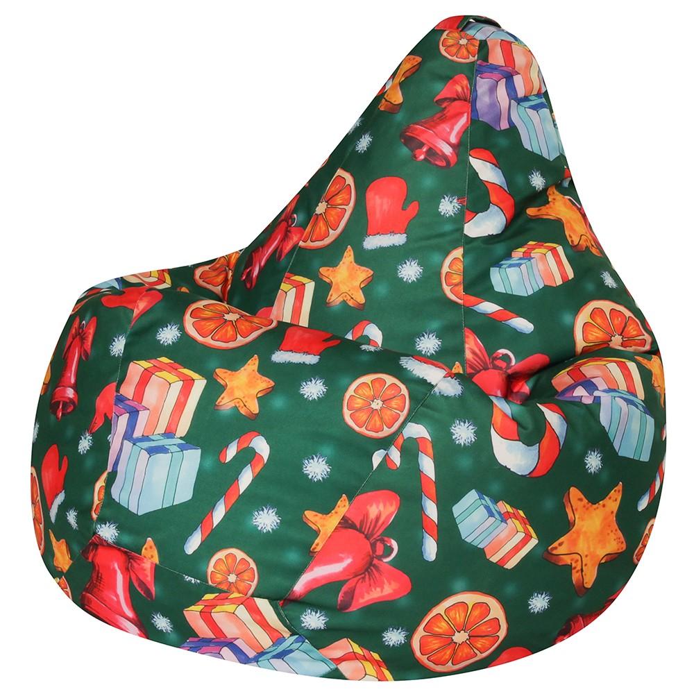 Кресло Мешок Груша Christmas (3XL, Классический)
